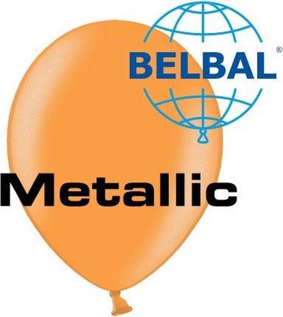 Ballonnen Oranje B105 35 cm 100 stuks