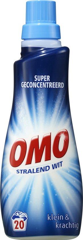 Omo Wit Klein & Krachtig Vloeibaar - 20 wasbeurten - 700 ml - Wasmiddel