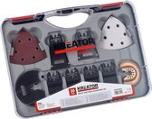 Kreator KRT990050 Accessoireset multitool - Oscillerend -20 accessoires