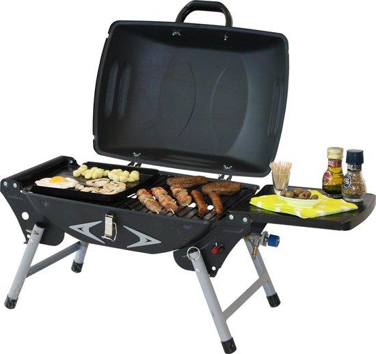 Garden Grill Bistro Traveller Gasbarbecue - 1 Brander - Zwart