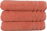 ARTG Towelzz® ORGANIC Handdoek - Organisch Katoen - Rose - Set 5 stuks