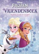 Vriendenboekje Frozen Disney Anna en Elsa vriendenboek