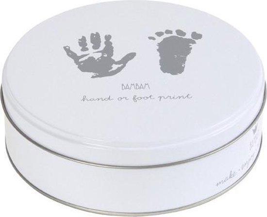 BamBam Gipsblik voor voetafdruk en handafdruk