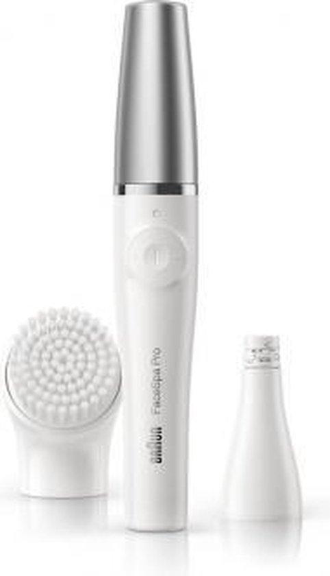 Braun FaceSpa PRO 910 2in1 Gezichtsepilator en Reinigingsborstel Wit