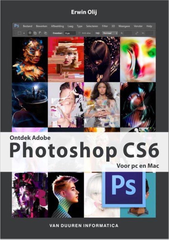 Cover van het boek 'Ontdek Photoshop CS6'