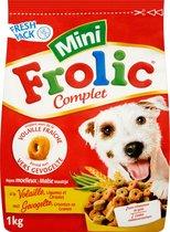 Frolic Compleet Mini Gevogelte - Hondenvoer - 6 x 1 kg
