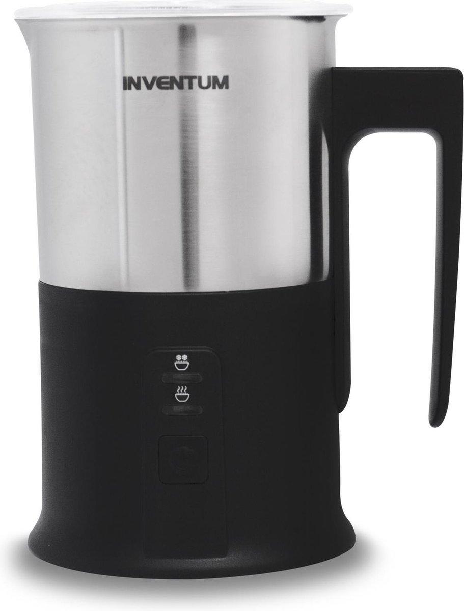 Inventum MK350 - Elektrische melkopschuimer - 240ML - RVS/Zwart - Inventum