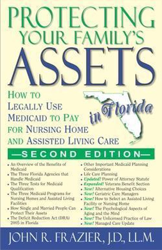 Boek cover Protecting Your Familys Assets in Florida van John R. Frazier, J.D., Ll.M. (Onbekend)
