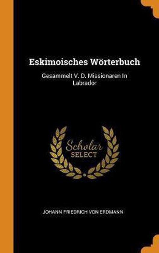 Eskimoisches W rterbuch