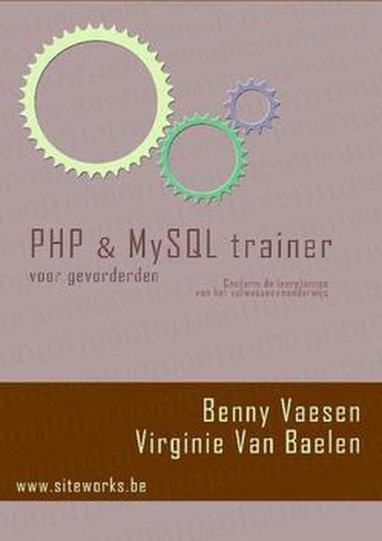 Cover van het boek 'PHP & MySQL Trainer voor gevorderden'
