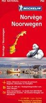 Michelin wegenkaart 752 Noorwegen