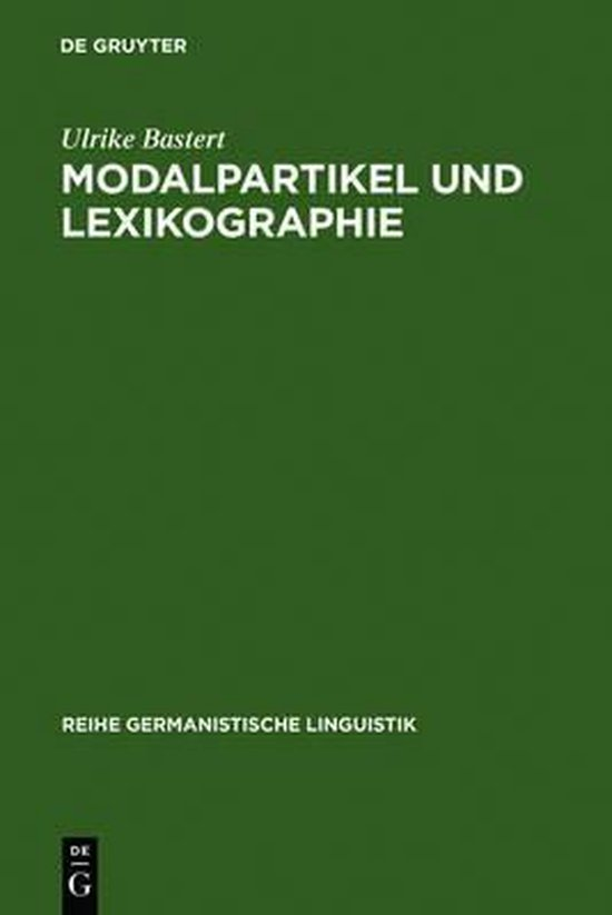 Modalpartikel und Lexikographie