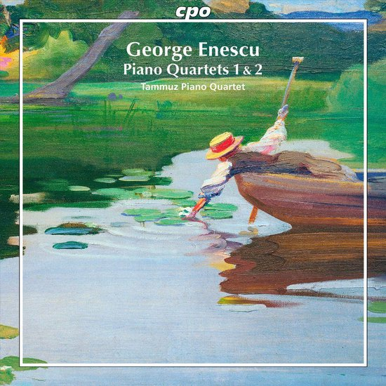 George Enescu: Piano Quartets Nos. 1 & 2