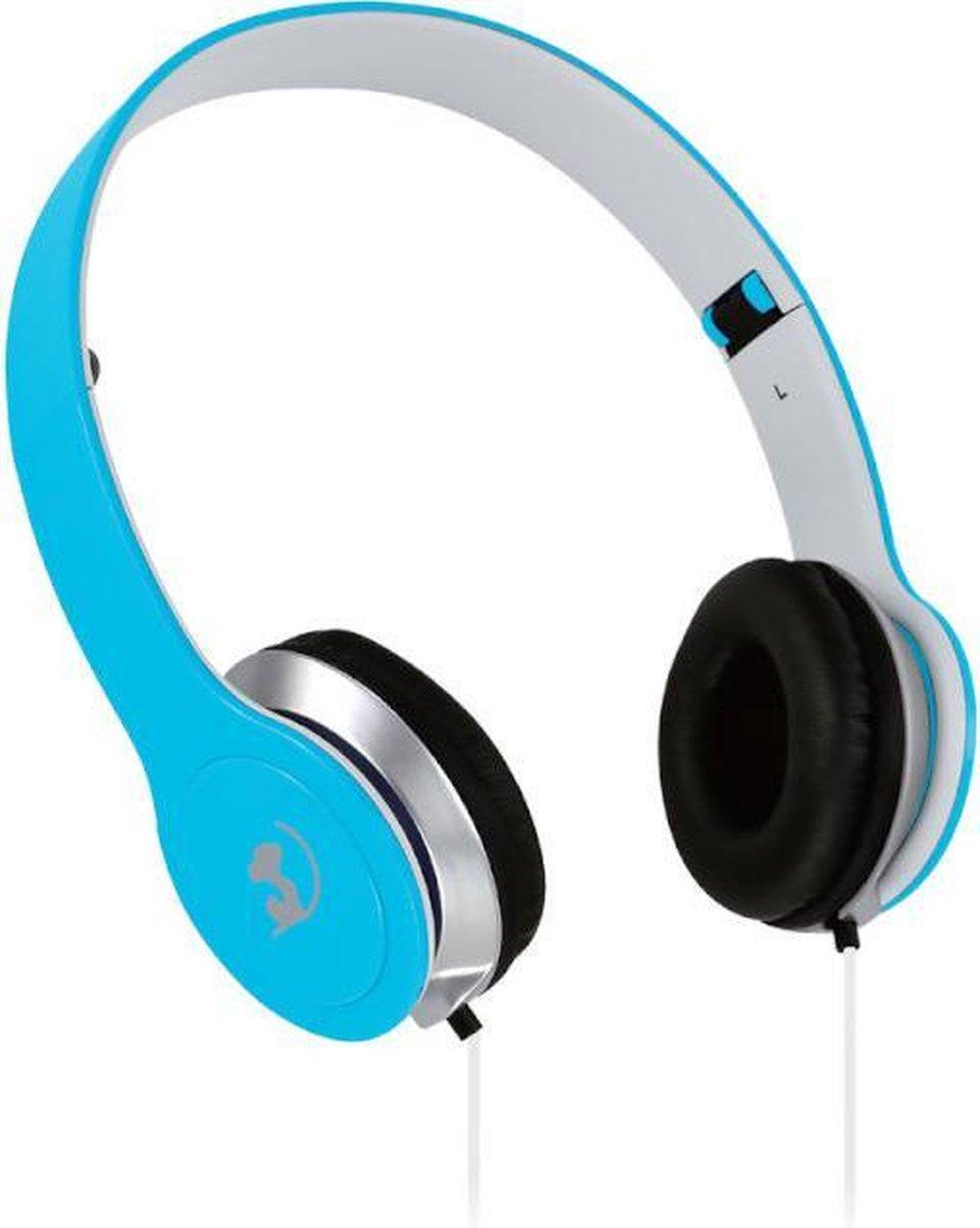 Wonky Monkey – Headset – Koptelefoon – On ear – Over ear – Opvouwbaar – Foldable – Blauw
