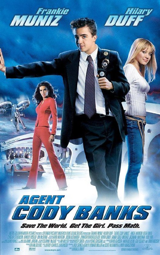 Cover van de film 'Agent Cody Banks'