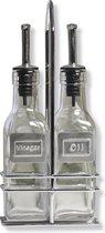Point-Virgule - Olie- en azijnset, glas, 150ml