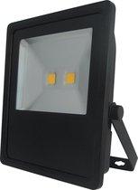 PROFILE LED straler flat - 50W - 2800 lumen - IP65 - zwart