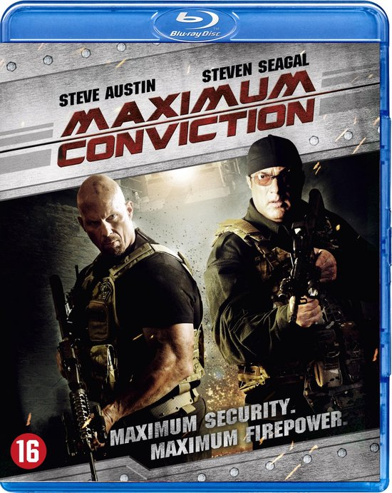 Cover van de film 'Maximum Conviction'