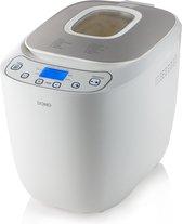 Domo B3963 - Broodbakmachine - 700-1000g - Glutenvrij programma - A13 norm - Wit