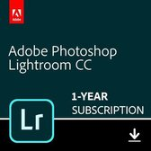 Adobe Photoshop Lightroom CC - 1 Apparaat - 1 Jaar - 1TB Cloudopslag - Nederlands / Engels - Windows / Mac Download