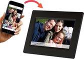 Denver PFF-710 - Digitale Fotolijst - fotokader - 7 inch - FRAMEO - WiFi - IPS touchscreen - Zwart