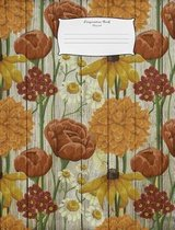 Composition Book Flowers4