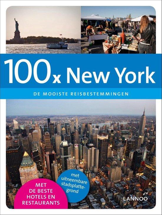 Cover van het boek '100 x New York' van Jacqueline Goossens