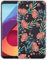 LG Q6 Hoesje Poppy Roses