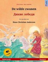 Sefa prentenboeken in twee talen - De wilde zwanen – Дикие лебеди (Nederlands – Russisch)