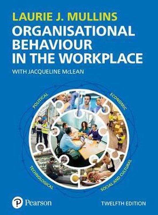 Boek cover Organisational Behaviour in the Workplace van Laurie Mullins (Paperback)