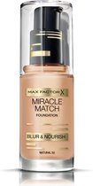 Max Factor Miracle Match Shade Matching Liquid Foundation - 050 Natural