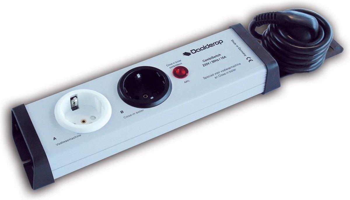 Daalderop Combiswitch 230V -16A voor boiler