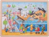 Goki 57744 puzzel Legpuzzel 48 stuk(s)