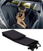 Déluxa Hondenkleed voor in de auto - Zwart - 135 x 145 cm