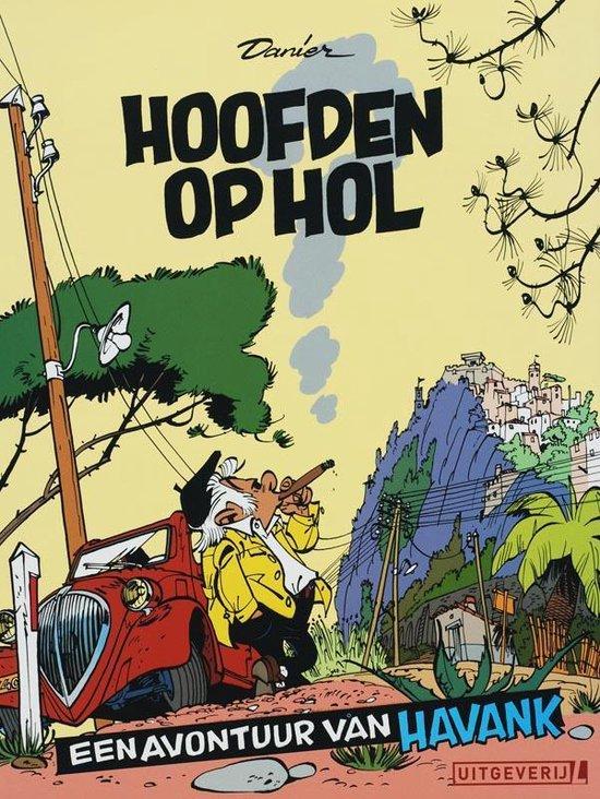 Cover van het boek 'Havank / Hoofden op hol' van  Danier