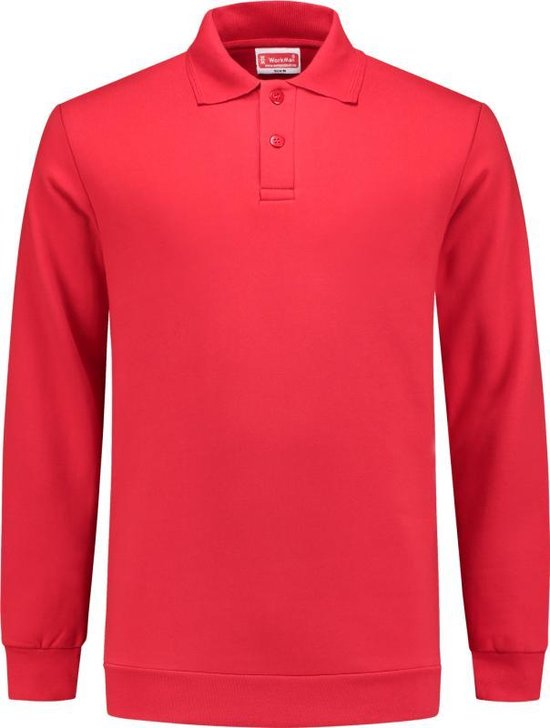 Workman Polosweater Outfitters Rib Board - 9303 rood - Maat 3XL