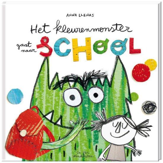 Boek cover Het kleurenmonster gaat naar school van Anna Llenas (Hardcover)