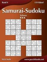 Samurai-Sudoku - Schwer - Band 4 - 159 R tsel