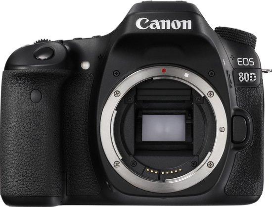 Canon EOS 80D - Body - Zwart