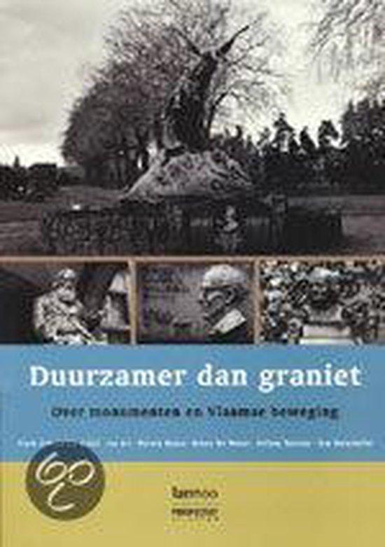 Duurzamer dan graniet - Bruno de Wever |