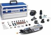 Dremel 8220 Multitool - Roterend - 12V - Twee accu's - Incl. toolbox met 65 accessoires