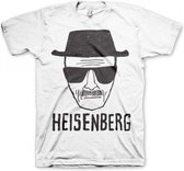 T-shirt Breaking Bad Heisenberg wit 2xl