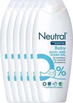 Neutral Baby Wasgel - Parfumvrij - 6 x 250 ml