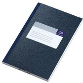 Notitieboek A6 Atlanta Hardkaft Blauw