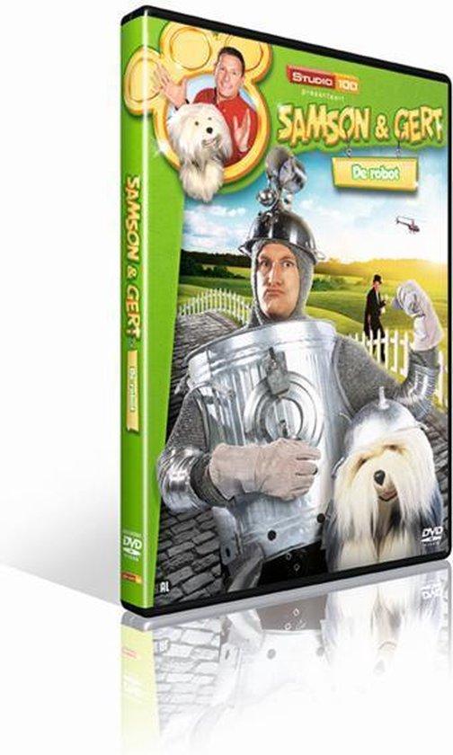 Cover van de film 'Samson & Gert - De Robot'