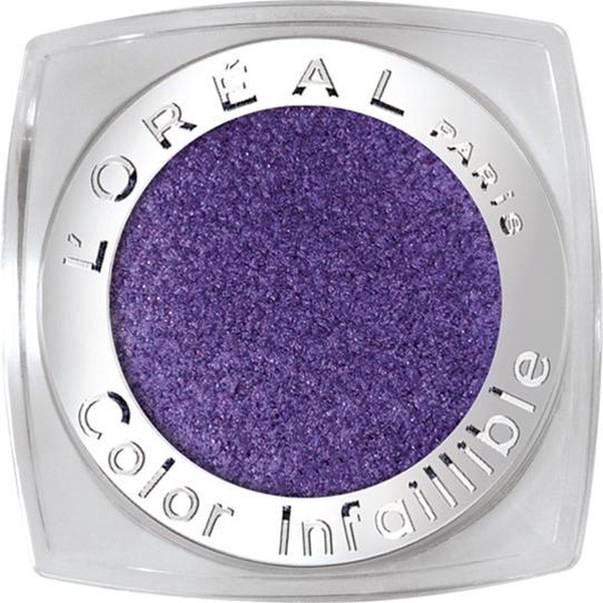 L'Oréal Paris Color Infallible - 005 Purple Obsession - Oogschaduw - L'Oréal Paris