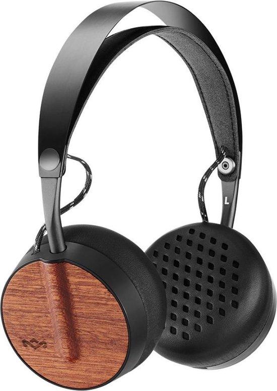 House of Marley Buffalo Soldier BT - koptelefoon - koptelefoon bluetooth - duurzaamheid - zwart