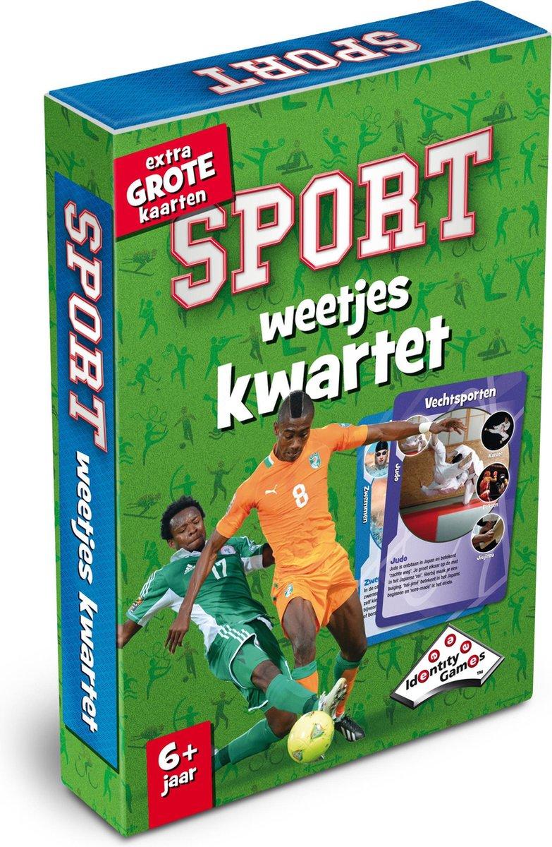 Sport Weetjeskwartet - Kaartspel - Special Edition