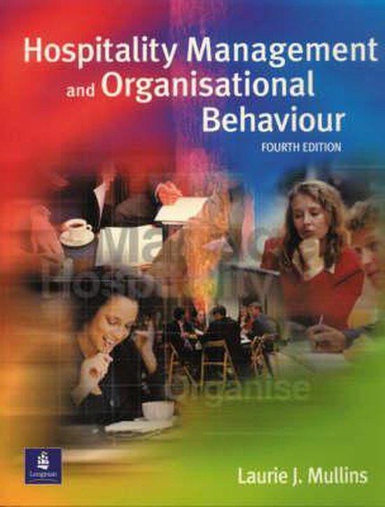 Boek cover Hospitality Management and Organisational Behaviour van Laurie Mullins (Paperback)