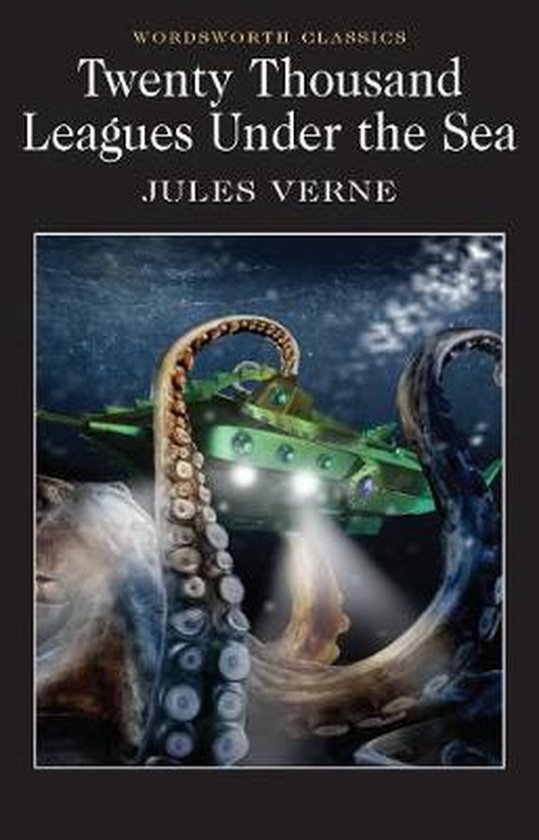 Boek cover Twenty Thousand Leagues Under the Sea van Jules Verne (Paperback)